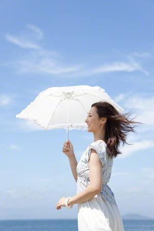 夏の必需品は日傘!白?黒?ベストな選び方は色と素材チェックからのサムネイル画像