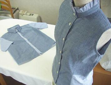 着なくなったYシャツ、捨ててしまう前にリメイクしてみませんか?のサムネイル画像
