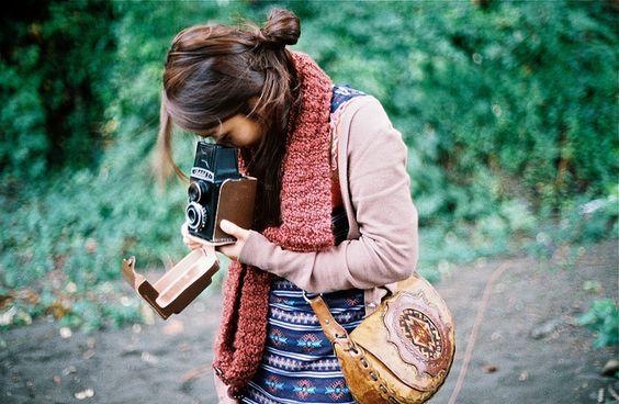 おじさんみたいじゃダメ!女子だから、カメラバッグも可愛いものをのサムネイル画像