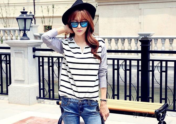 自由自在にコーデを楽しもう!レディースの長袖Tシャツ特集!のサムネイル画像