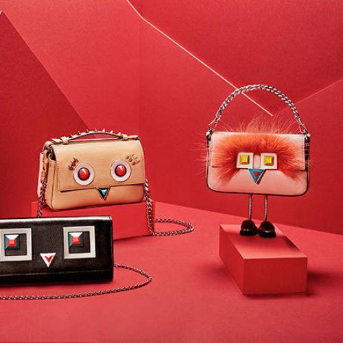 冬の新作 FENDI「ヒプノタイズ」表情のあるデザインバッグが可愛い!のサムネイル画像