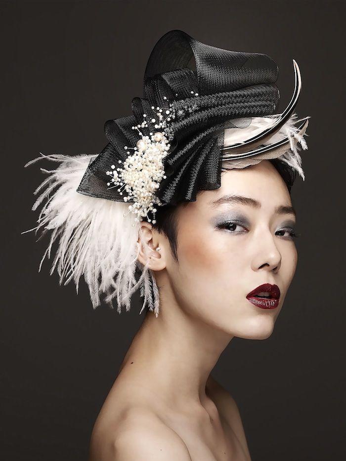 シックでクールな黒のヘッドドレス!つけるだけおしゃれ感アップ!のサムネイル画像