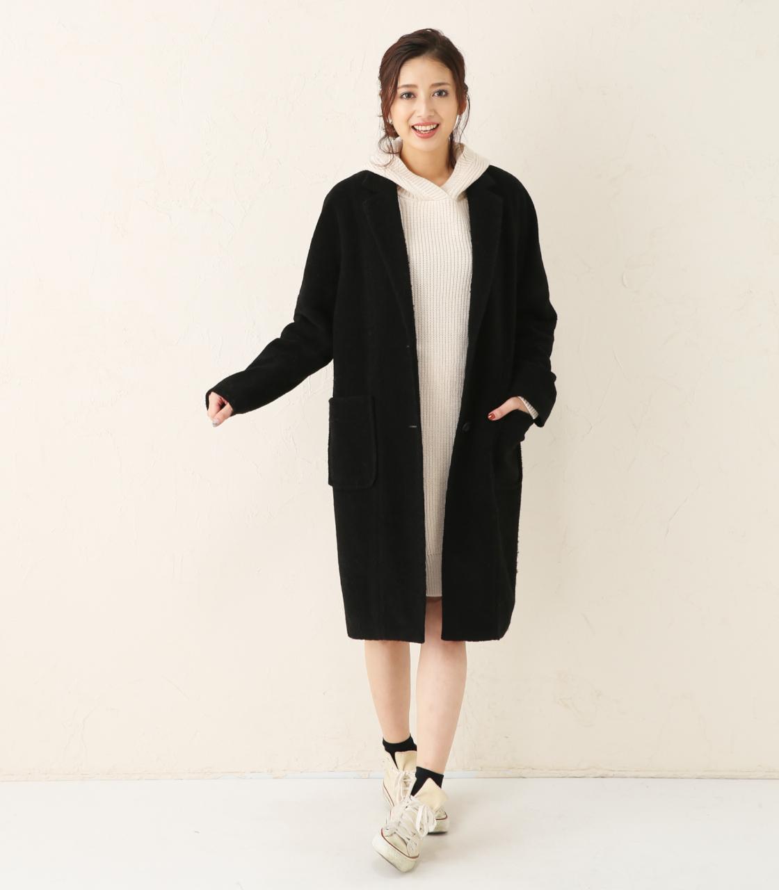 冬のレディースファッションはロングチェスターコートで決める☆のサムネイル画像