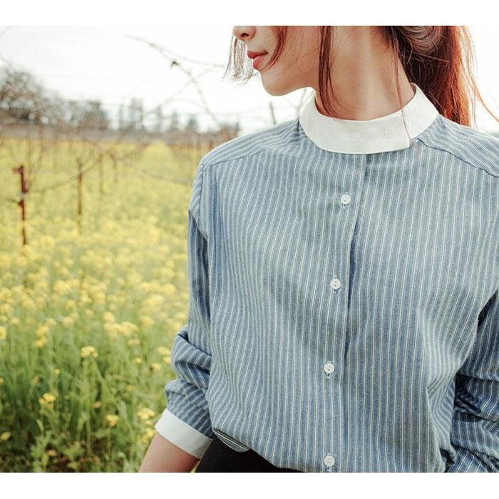 1枚あれば超便利♡ストライプのシャツで着まわし上手になろう!のサムネイル画像