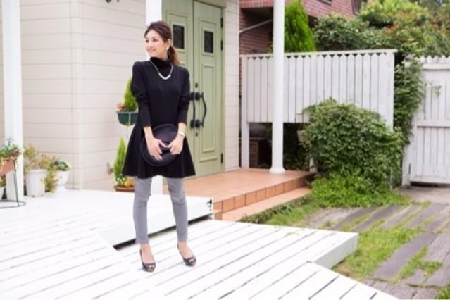 スキニーデニムでスタイルアップ♡レディースコーデはすっきりと!のサムネイル画像