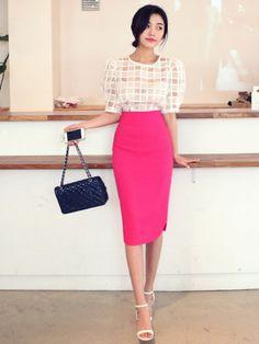 《スタイルすっきり♡》コーデの幅が広い!【ペンシルスカート】のサムネイル画像