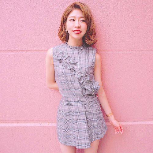 「可愛いね」って言われたい!チェックスカートで先取り秋コーデ♡のサムネイル画像