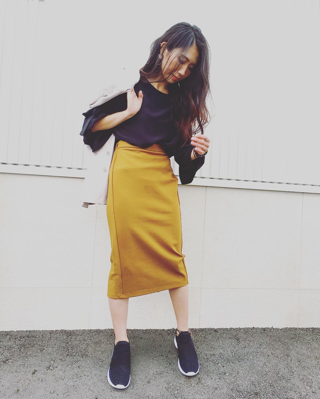 オフィスにも使える♡キレイめ女子に欠かせないプチプラスカート4選のサムネイル画像