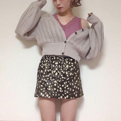 まだまだ使える♡大人気《レースキャミ》でお洒落秋服コーデのサムネイル画像