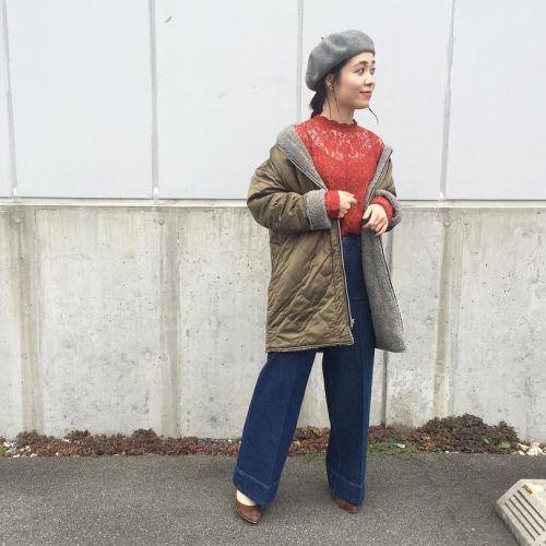 今年のアウター大本命!?【キルティングコート】で冬を過ごそう♡のサムネイル画像
