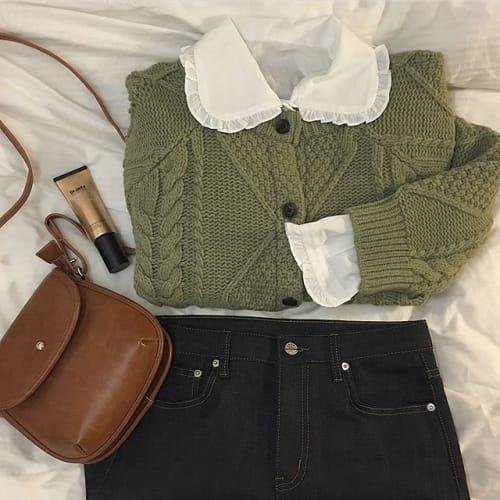 新鮮さを出してみない?可愛く着れる【緑アイテム】を大調査♡のサムネイル画像