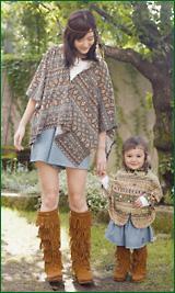 靴はどうする?大人カジュアルなママファッションに人気の森ガールのサムネイル画像