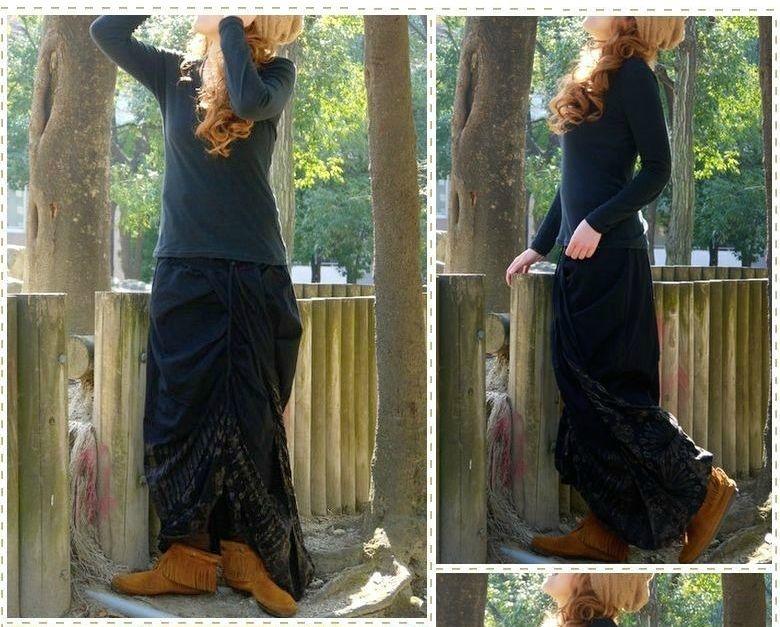 リメイク風マキシ丈スカートが可愛い♪おしゃれスカートいっぱい♪のサムネイル画像