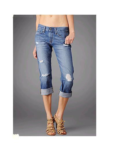 ファッションの定番アイテムジーンズ!丈別おしゃれなコーデ特集♡のサムネイル画像