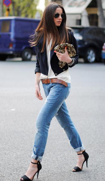 みんな大好きジーンズのおしゃれなロールアップ方法大公開♡のサムネイル画像
