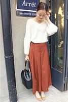 今年の冬に着こなしたいおすすめロングスカートとコーデまとめのサムネイル画像