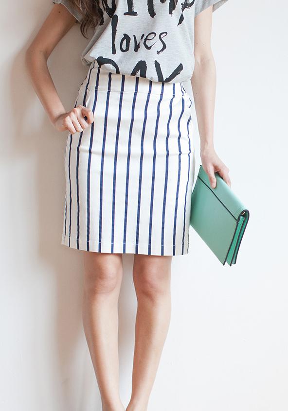 ハイウエストのスカートでスタイルアップしよう!!コーデ画像集♥のサムネイル画像