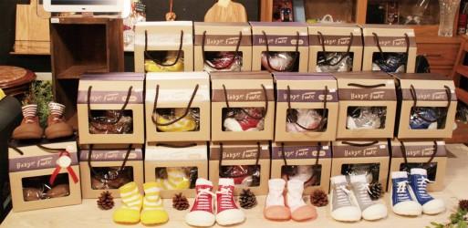 プレゼントにも!靴下感覚で履ける靴!ベビーフィートを紹介します!のサムネイル画像
