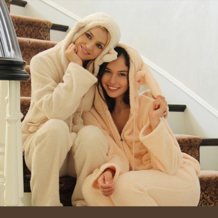 【画像あり】寒い冬はもこもこあったかいルームウェアを着よう!のサムネイル画像