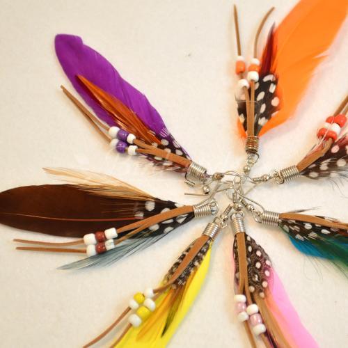 【画像】羽ピアス!天使の羽や人気のフェザーピアス、変り種も!のサムネイル画像