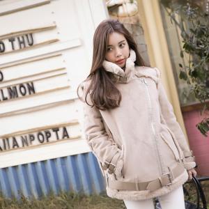 寒い国の韓国ではあったか、モコモコ【ムスタンコート】が流行中♡のサムネイル画像