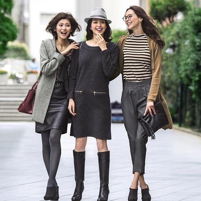 出来る女性は仕事服もおしゃれに着こなせる!冬はこのアイテムでのりきるコーディネートテクニック♪のサムネイル画像