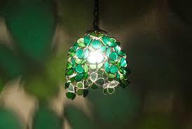 ペンダントライトをご紹介!ステンドグラスがレトロで美しい!のサムネイル画像