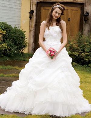 やっぱり憧れは白でしょ♡かわいいウェディングドレス特集♡のサムネイル画像
