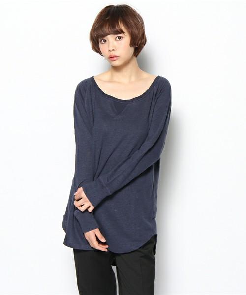 気軽に着れるカットソー☆長袖のカットソーの人気アイテムは?のサムネイル画像