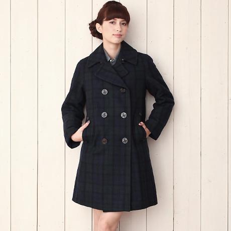 カラー別!どんな着こなしにもぴったり合うpコートをご紹介♡のサムネイル画像