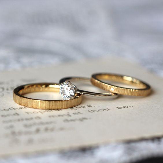 イマドキ花嫁さん必見♪可愛くおしゃれな結婚指輪ブランド3選♡のサムネイル画像
