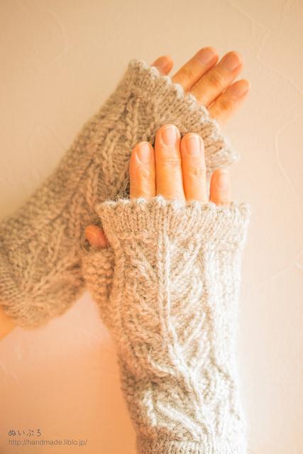 【動画あり】五本指手袋・ミトン手袋・ハンドウォーマーの編み方のサムネイル画像