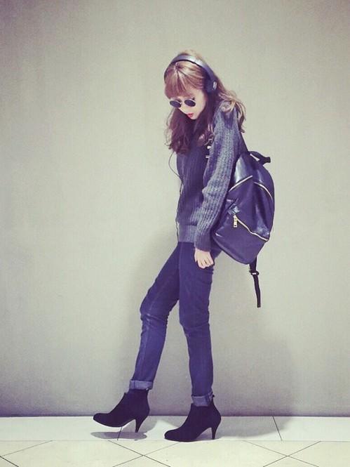 おしゃれ女子のカジュアルコーデはリュックがなきゃ始まらない♡のサムネイル画像