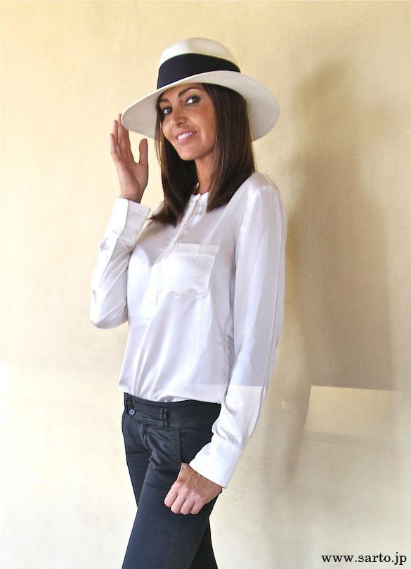 帽子をかぶった、おしゃれなファッションのコーディネートをご紹介☆のサムネイル画像