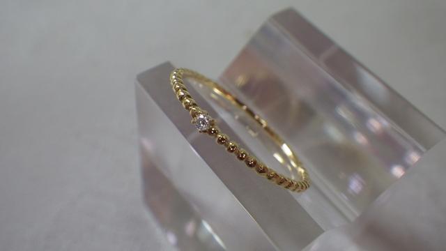 たくさんの光を集めキラキラと輝く✧天然ダイヤの指輪が欲しい!のサムネイル画像