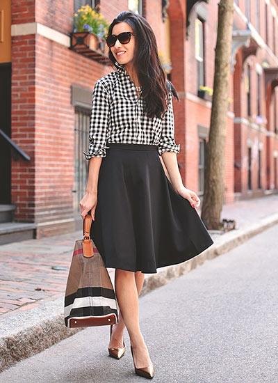 可愛さ倍増♡フレアスカートを使ったコーデは女の子らしい♡のサムネイル画像