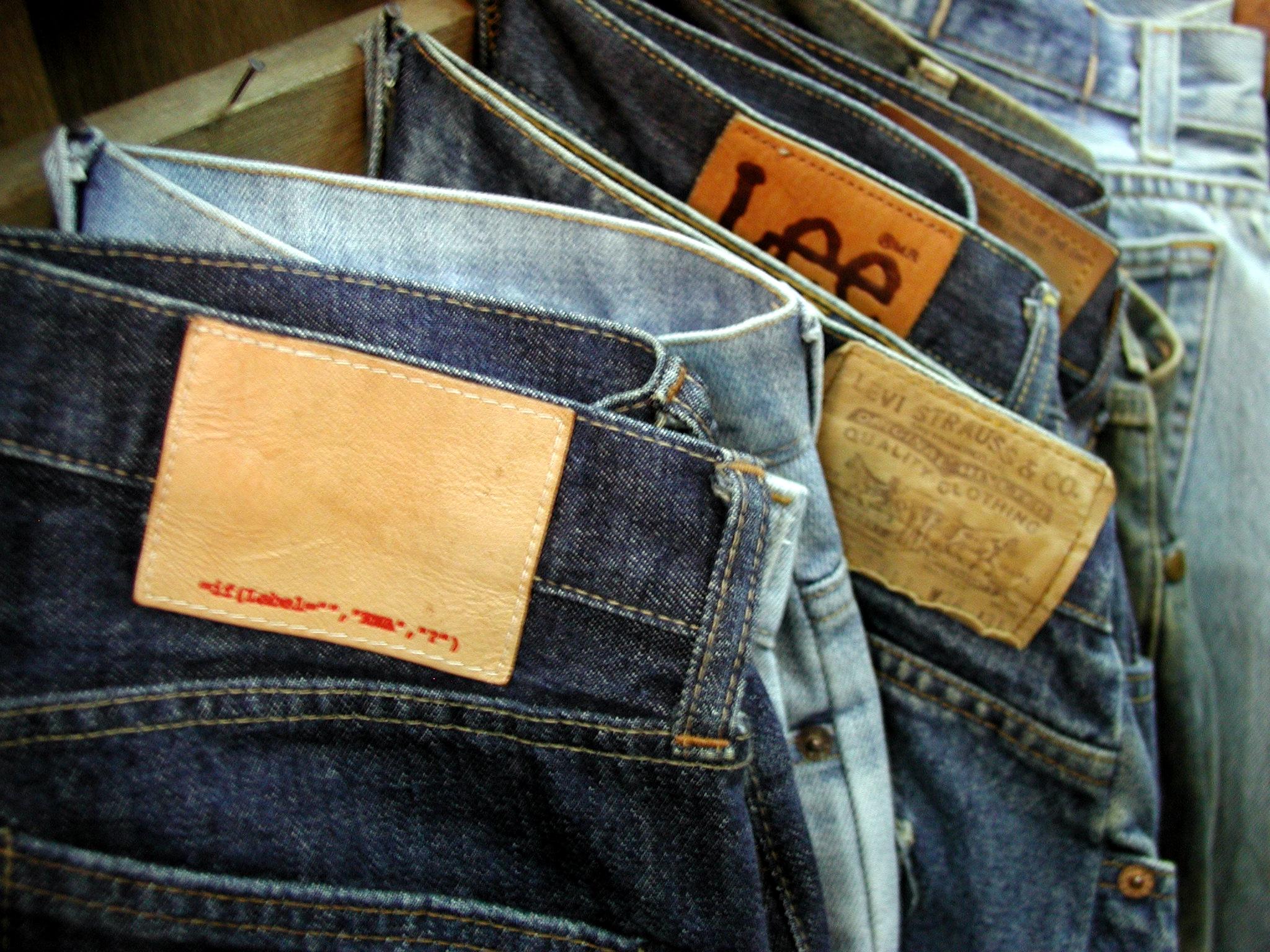ファッションの定番「ジーンズ」いろんなブランドをおしえて!!のサムネイル画像