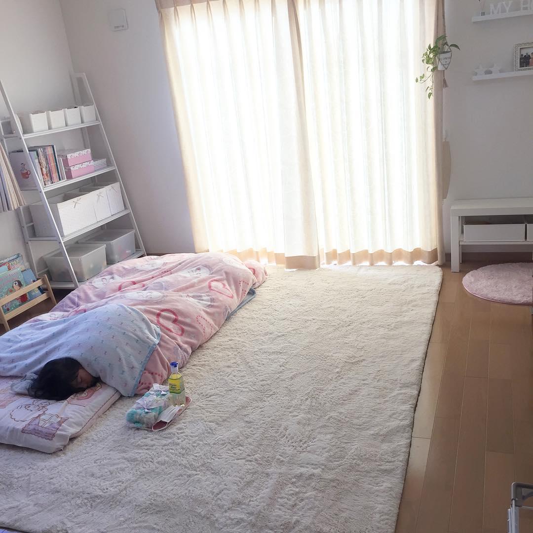 しまむらのおしゃれ寝具で、ベッドルームもカッコよく大変身!のサムネイル画像