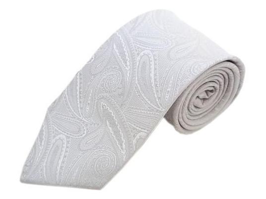 お洋服のワンポイントアイテム。ネクタイのシルバー、種類別まとめ!のサムネイル画像