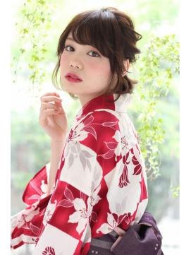花火大会に着て行きたい浴衣!画像集‼色別に着こなしを紹介のサムネイル画像
