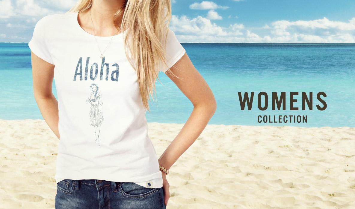 夏のtシャツ選びにお役立ち!ハワイのレディースtシャツ特集のサムネイル画像