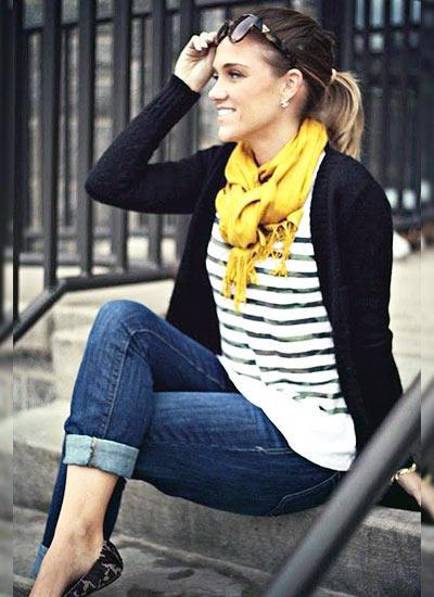 大好きなジーンズ、女性らしく着こなせるおすすめコーディネートのサムネイル画像
