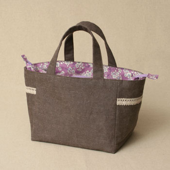 おしゃれで可愛い☆便利なファスナー付きトートバッグをご紹介!のサムネイル画像