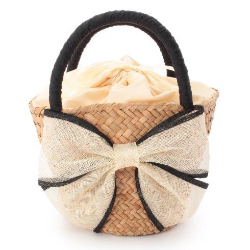 おすすめのリボンかごバッグご紹介&コーデ集♪春夏のバッグはかご♪のサムネイル画像
