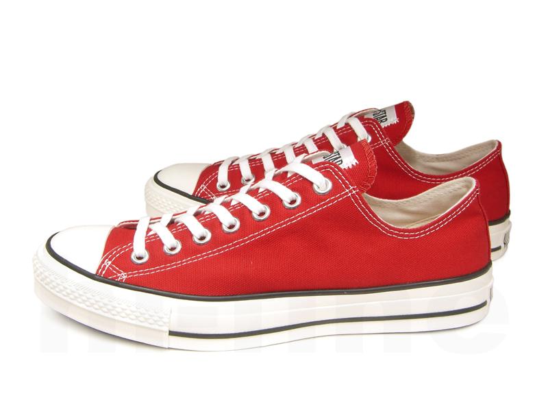 赤のコンバースの靴を履いてお出掛けしよう☆人気のデザインは?のサムネイル画像