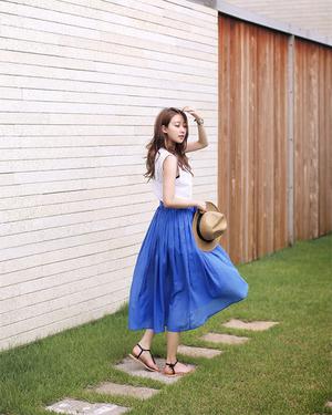 春はスカートが大活躍♡春に欲しいスカートのコーデを特集!のサムネイル画像