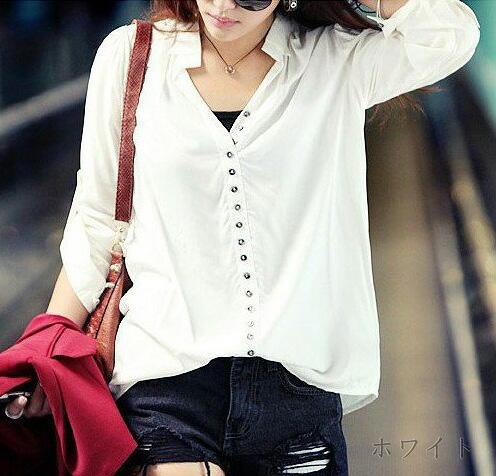 春はレディース白シャツを着こなした爽やかコーデをマスター♡のサムネイル画像