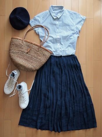 夏はスニーカーをはいてコーデするのがイマドキのオシャレ♡のサムネイル画像