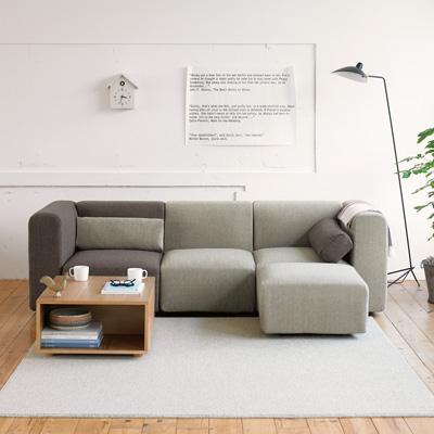 ファブリックもレザーも種類豊富、ハイクオリティ無印良品のソファのサムネイル画像