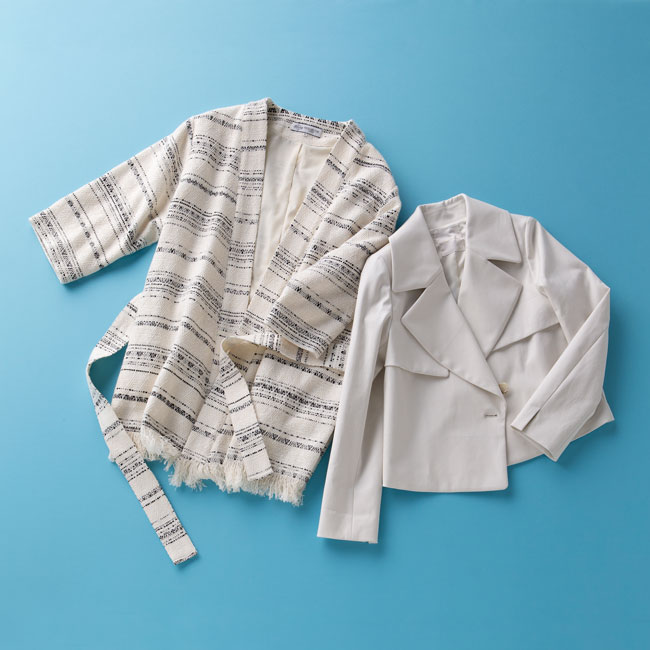 【春に大活躍】白ジャケットを使ったコーデが爽やかで素敵♡のサムネイル画像